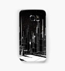 Night Time Graphic City Landscape Samsung Galaxy Case/Skin