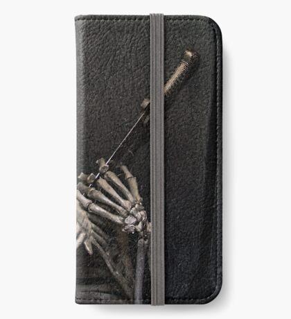 Tod mit dem Schwert iPhone Flip-Case