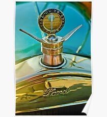 1923 Ford Model T Hood Ornament -0380c Poster