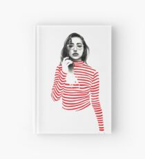 Striped Hardcover Journal