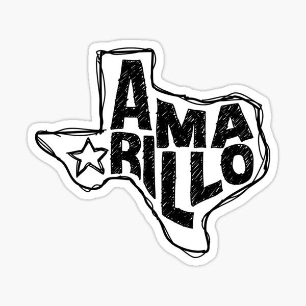 Amarillo, Texas Pegatina