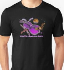 Cello Space Bats via Venus Unisex T-Shirt