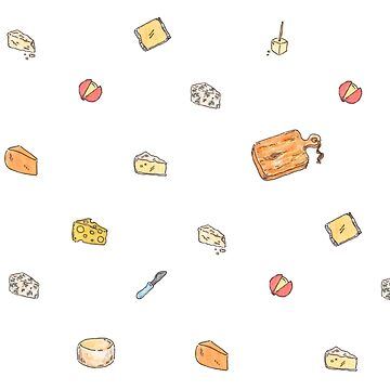 Tasty Cheese Illustrations by katherinepigott