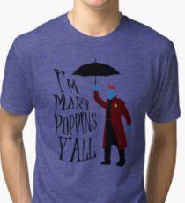 Yandu Poppins Tri-blend T-Shirt