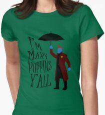 Yandu Poppins Womens Fitted T-Shirt