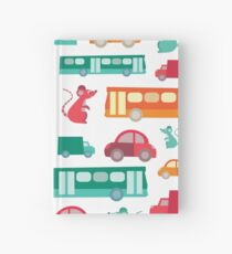 Zoom City Traffic Print Hardcover Journal