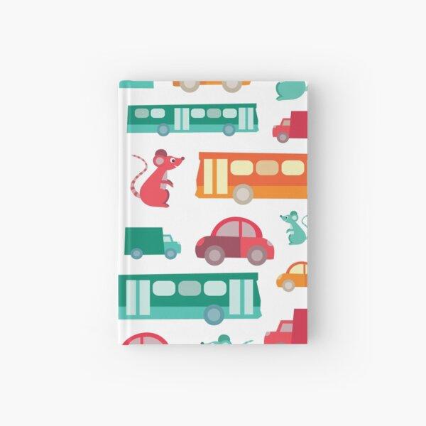 Zoom City Traffic Print Hardcover Journal