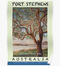 Soldier's Point, NSW Travel Poster