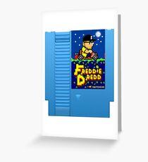 Freddie Dredd - Retro Gaming Cartridge Greeting Card