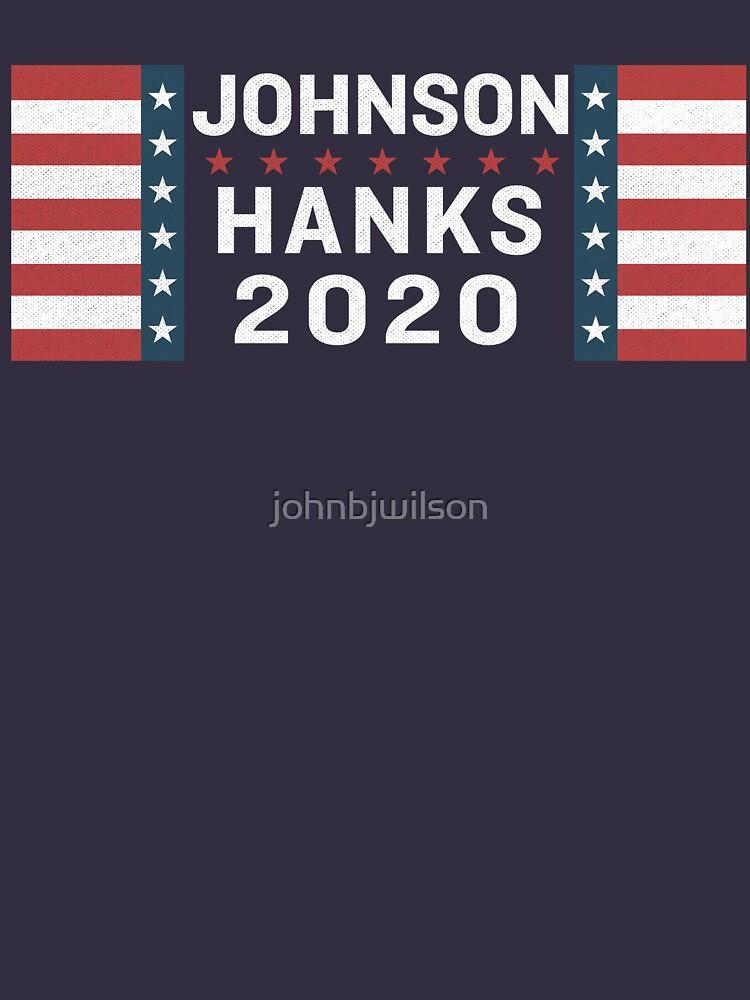Johnson/Hanks 2020 | Unisex T-Shirt