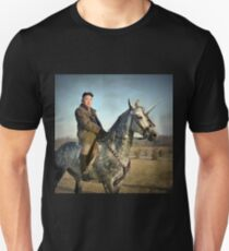 Kim Jong Un riding a unicorn  Unisex T-Shirt
