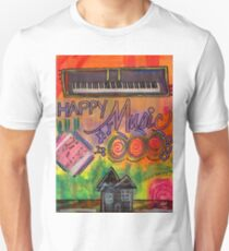 House of Happy Music Unisex T-Shirt