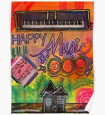 House of Happy Music Poster