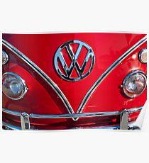 1964 Volkswagen Vw Double Cab Emblem -0099c Poster