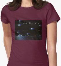 streetlights tee Womens Fitted T-Shirt