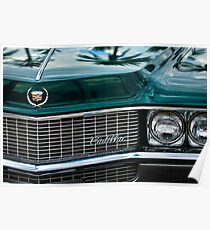 1969 Cadillac Eldorado Grille Emblem -0270c Poster