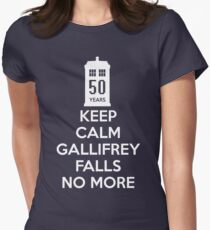 Gallifrey Falls No More Doctor Who - T-shirt Womens Fitted T-Shirt