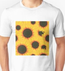 Spring colorful pattern sunflower Unisex T-Shirt