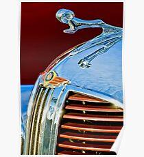 1938 Dodge Ram Hood Ornament -1406c Poster