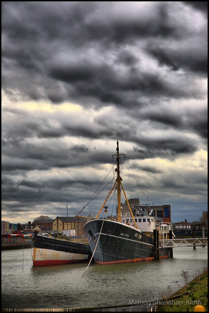Grimsby Port 1 by Melody Shanahan-Kluth