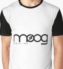 - Moog Synthesizers Logo - Graphic T-Shirt