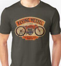 Flying Merkel Vintage Logo Unisex T-Shirt