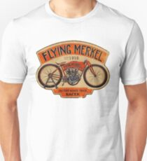 Flying Merkel Vintage Logo T-Shirt