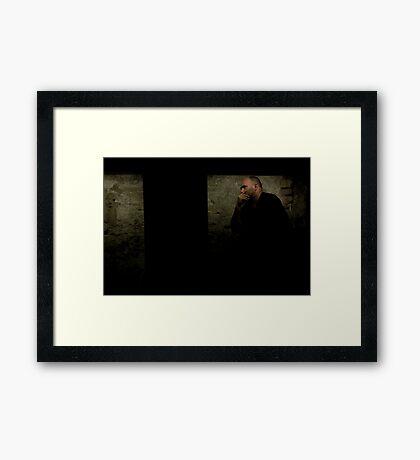 Billy in a Box Framed Print