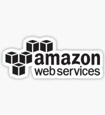 amazon web service Sticker