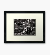 hey there officer Framed Print
