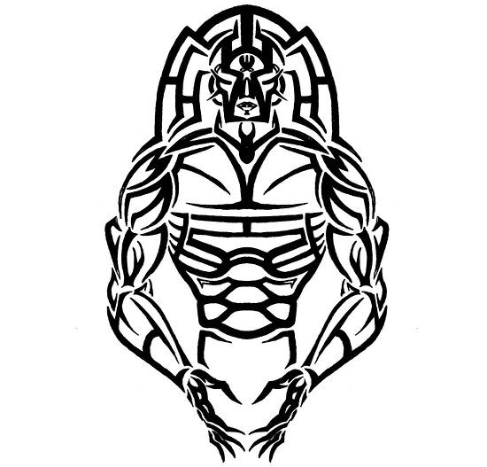 Tribal Warrior Tattoo Designs | www.imgkid.com - The Image ...