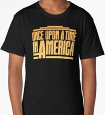 Once Upon A Time In America (1984) Movie Long T-Shirt