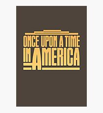 Once Upon A Time In America (1984) Movie Photographic Print