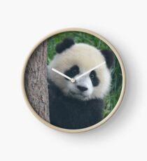 Peek-a-Boo Panda Clock
