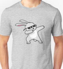 Dabbing Easter Bunny Funny Shirt Dab Hip Hop Rabbit Unisex T-Shirt