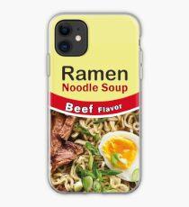 Beef Ramen Noodles Is Life iPhone Case