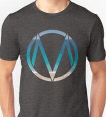 Das Maine Logo (Strand) Slim Fit T-Shirt