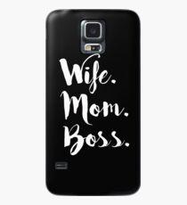 Ehefrau Mom Boss, Wifey, Boss Dame Hülle & Skin für Samsung Galaxy