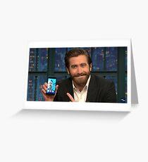 Jake Gyllenhaal Greeting Card