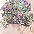 Flower Arrangement by the Window by Sherry Hallemeier