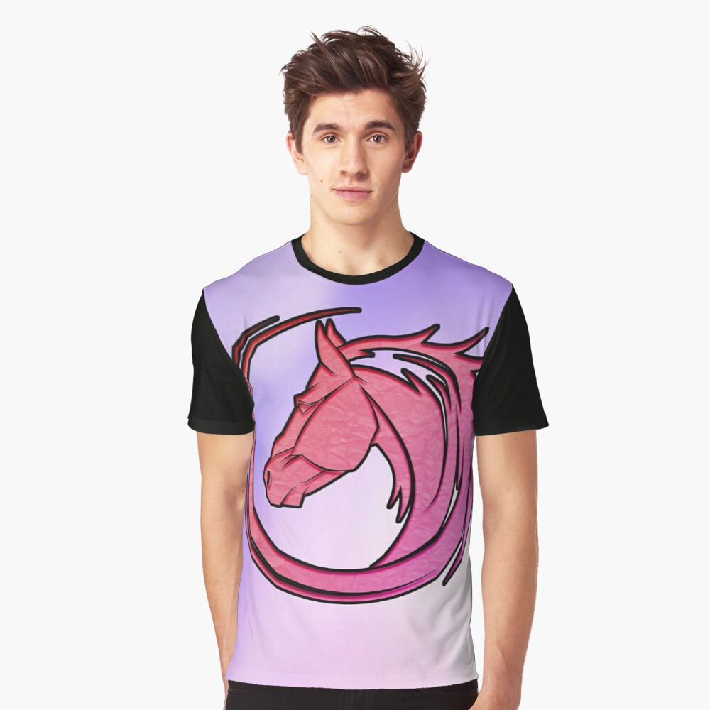 Horse Graphic T-Shirt Front
