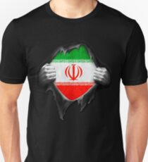Iran Flag. Proud Iranian Unisex T-Shirt 21077468b