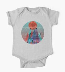 Reach For The Sun - watercolor grunge One Piece - Short Sleeve