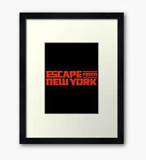 Escape from New York (1981) Movie Framed Print