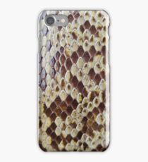 Snake skin texture iPhone Case/Skin