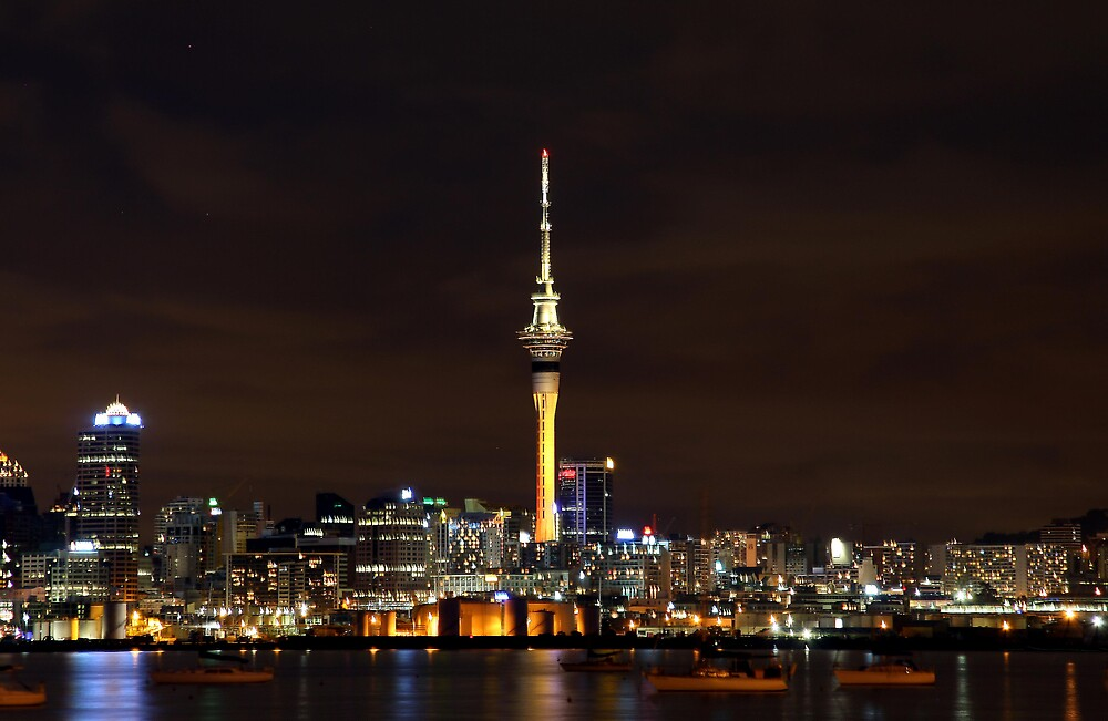 Sky Tower by spec