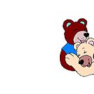 Bear Mug Hugs by Catherine Hamilton-Veal  ©