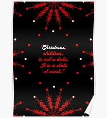 "Christmas children... ""Mary Ellen Chase"" Christmas Quote Poster"