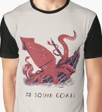 Camiseta gráfica Squid Goals