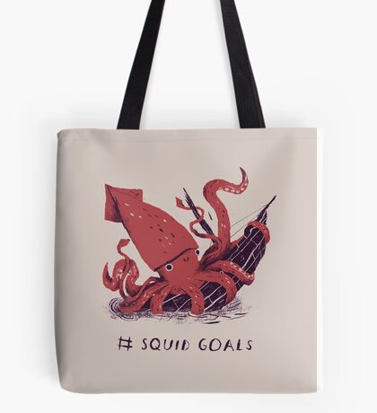 Squid Goals Tote Bag